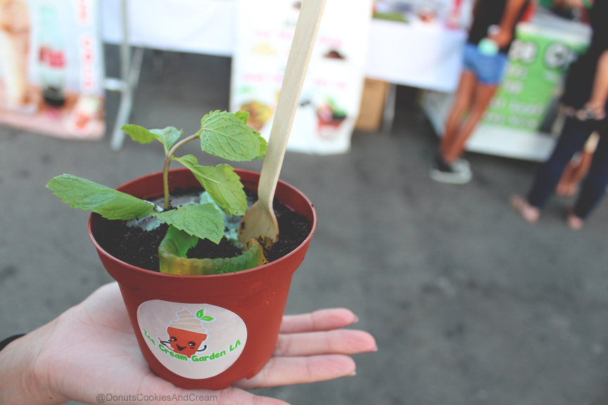 Ice Cream Garden Mint1 Ice Cream Garden LA changes what you eat ice cream out of