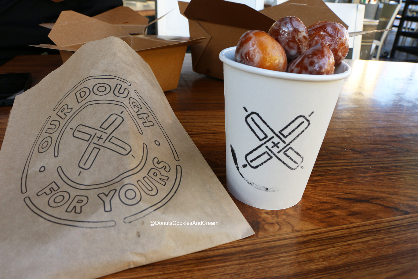 Dough Holes Exchange your dough for these Pizza Doughnuts