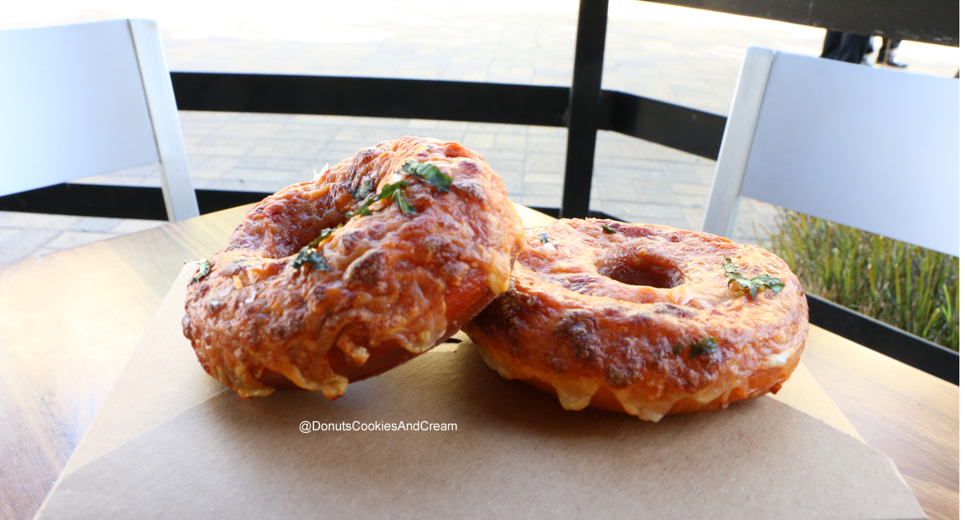 Dough PIZZA Exchange your dough for these Pizza Doughnuts