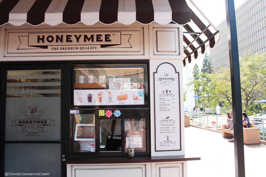 HoneyMee Menu The Sweet Buzz for Ice Cream in Korea Town is Honeymee