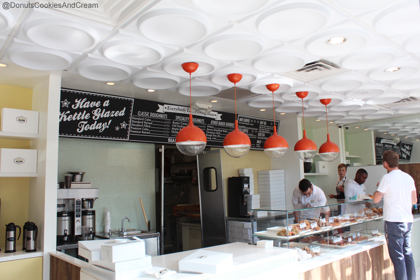 Kettle Inside Hollywood Shines with Kettle Glazed Doughnuts
