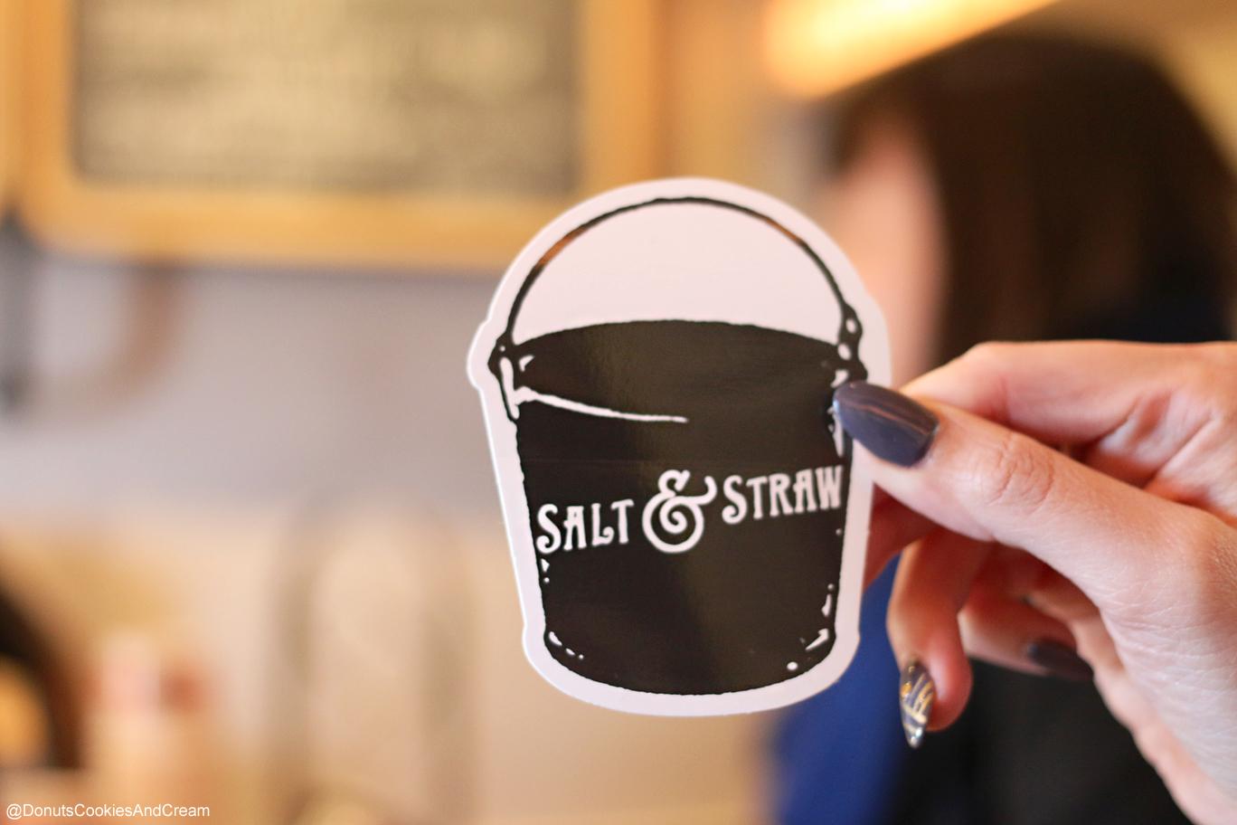 SaltAndStraw Sticker PDX to LA | Salt & Straw is Keepin it, WEIRD.