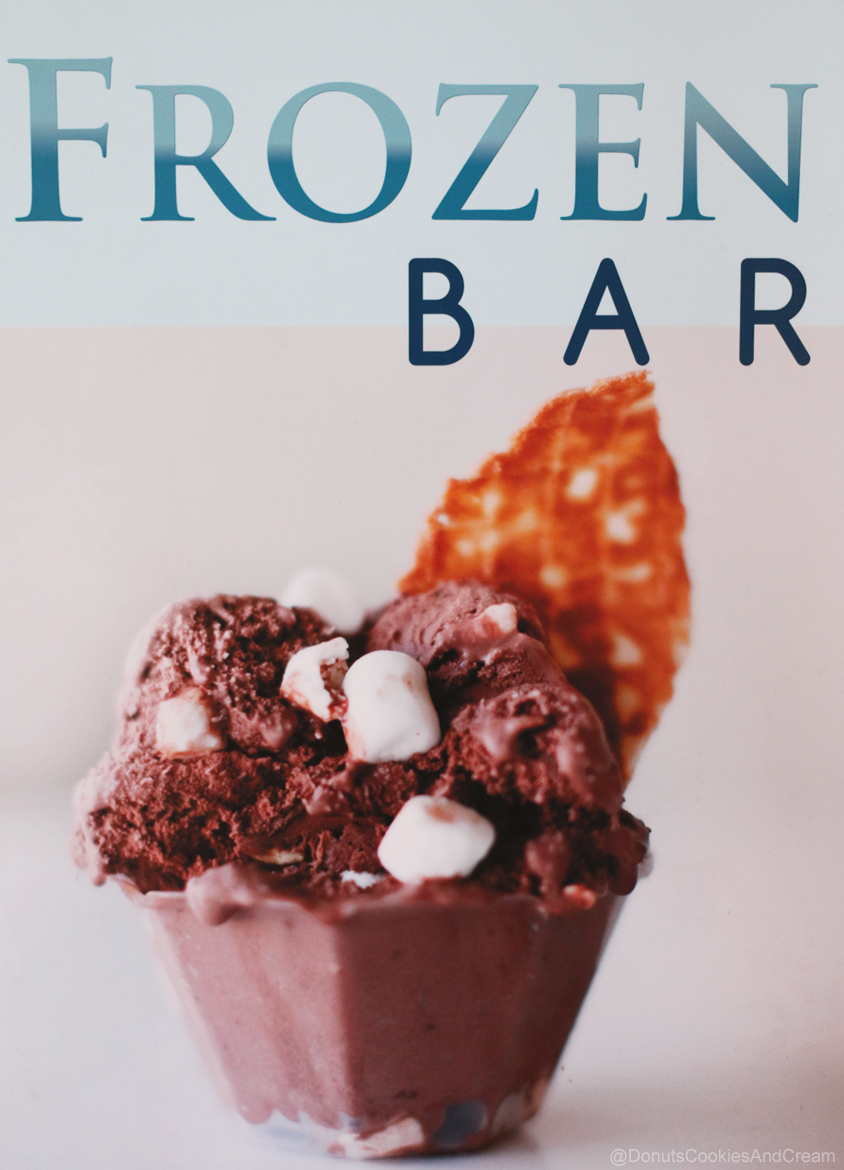 Frozen Bar Sign Frozen Bar is Serving Up Gelato and Fronuts
