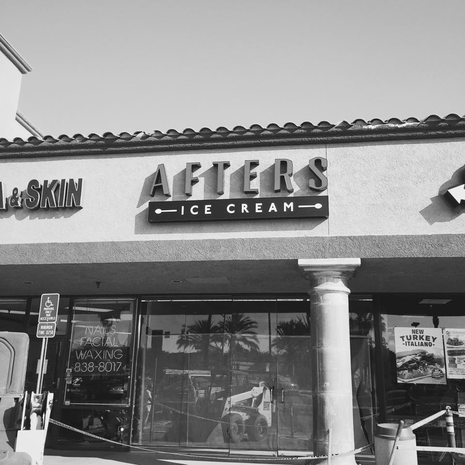 aftersicecream The Milky Bun of Afters Ice Cream Finds a New Home in Tustin, CA