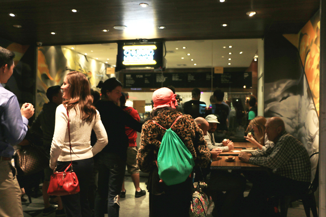 ChurroOutside Churro Borough has a Grand Opening TODAY   Churro Ice Cream Sandwiches in Los Feliz