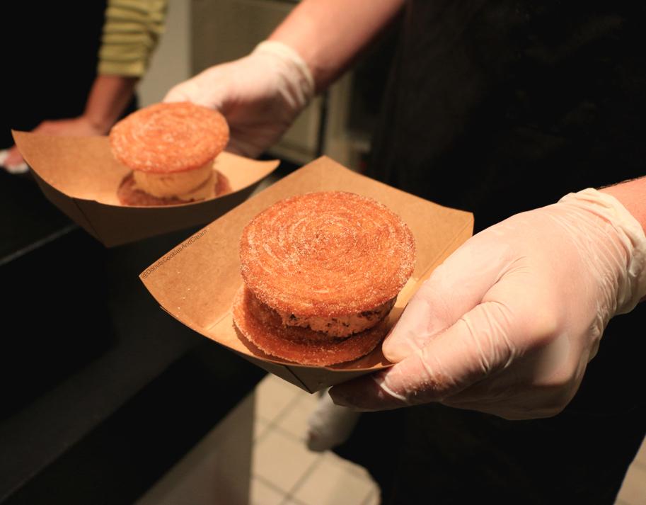 ChurrosServed Churro Borough has a Grand Opening TODAY   Churro Ice Cream Sandwiches in Los Feliz