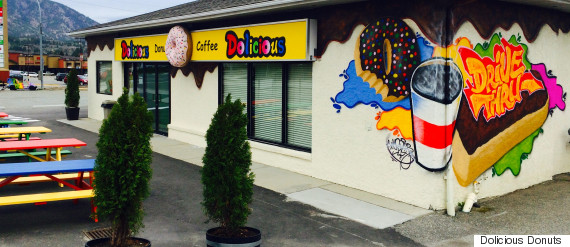 o DOLICIOUS DONUTS KELOWNA 570 Canadian Bakery Debuts $100 Donut With Edible Gold Flakes