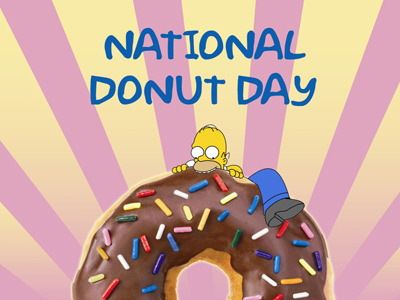 Simple Free Donuts On National Donut Day June 5 2015