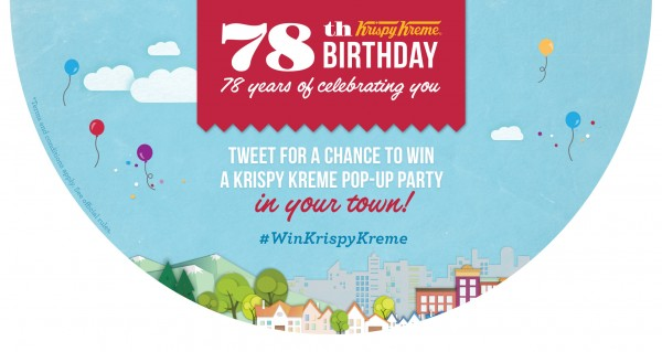 Krispy Kreme 78th Birthday Celebration!!!